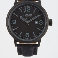 Quartz Canvas Strap Watch