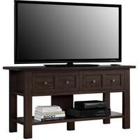 "Apothecary Cherry TV Stand/Console Table for TVs up to 55"" - Walmart.com"