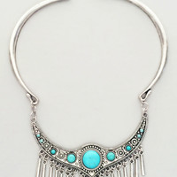 Turquoise Roma Necklace