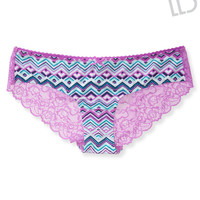 Aeropostale  Womens Chevron Lace-Back Hipster