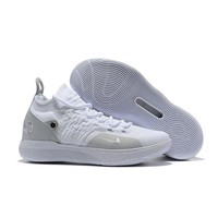 Nike KD 11 Pure White Kevin Durant Sneakers - Best Deal Online