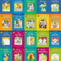12 Children's Educational  Books - Assortment Of Books From Level 1, 2 And 3