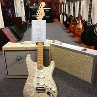 Fender Moto Strat - #20 of 250 - Collector's Item, Estate Sale. OHSC & Matching Amp! 1995