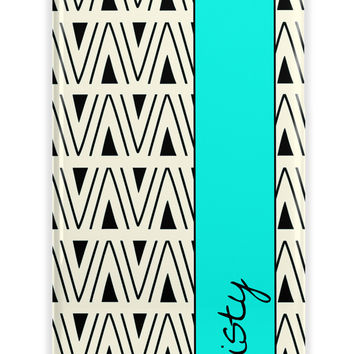 TRIBAL CHEVRON - NAME IPHONE CASE