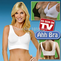 3 pcs/set High Quality AHH BRA 6 Size in stock BODY SHAPER Push Up BREAST RHONDA SHEAR Genie Bra NO BOX