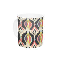 "Amanda Lane ""Bohemian iKat"" Ceramic Coffee Mug"
