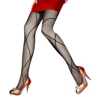 2017 New  Fashion Fishnet Sexy Stockings Spring Carved Vintage Cutout Silk Pantyhose Girl Thin Stocking