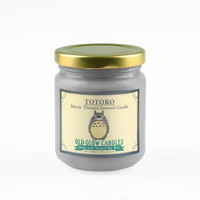 Totoro Inspired Natural Scented Candle - Studio Ghibli