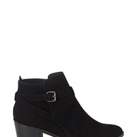 FOREVER 21 Buckled Ankle Booties
