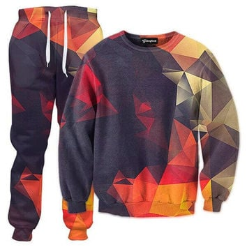 Abstract Glow Tracksuit