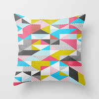 Apartment 02. Throw Pillow by Three of the Possessed