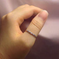 Sterling Silver Thumb Ring for Women | Stacking Ring | Stack Ring | Stackable Ring | Fashion Ring | Women Thumb Rings | Silver Band Ring |