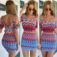 Sexy Women Summer Casual Sleeveless Party Evening Cocktail Short Mini Dress = 1946550212