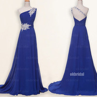royal blue dresses, royal blue prom dress, royal blue bridesmaid dresses, long prom dresses, cheap prom dresses, dresses for prom, RE445