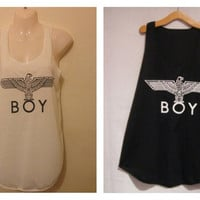 Boy london tank tops vest one size fits all by Littlekathmandu