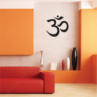 Ohm Adhesive wall decal