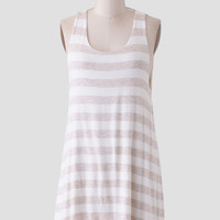 Sand Dune Striped Dress