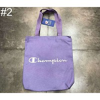 CHAMPION Men's and Women's Canvas Shoulder Embroidered Crossbody Bag F-Great Me Store #2