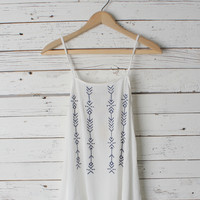 Kasey Embroidered Tank