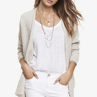 TEXTURED KNIT COVER-UP from EXPRESS