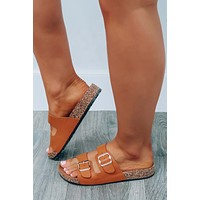 Warmer Weather Sandals: Camel