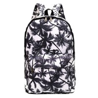 ONETOW College School Backpack Canvas Palm Tree Sports Daypack Travel Bag