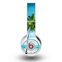The Paradise Beach Palm Tree Skin for the Original Beats by Dre Wireless Headphones