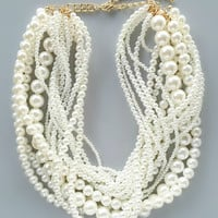 Princess Zora Pearl Necklace