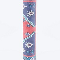 Carpet Print Yoga Mat in Red and Purple - Urban Outfitters