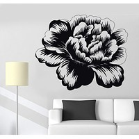 Vinyl Wall Decal Bud Rose Flower Garden Nature Girl's Room Decor Stickers Unique Gift (1206ig)