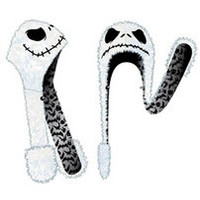 Nightmare Before Christmas Jack Big Face Fur Snood - goHastings