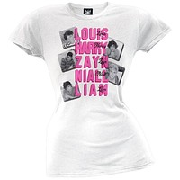 One Direction - Names Juniors T-Shirt