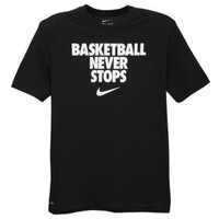 Nike Basketball Never Stops T-Shirt - Men's at Champs Sports
