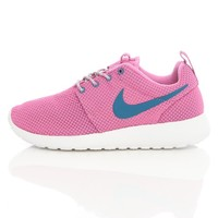 Nike Wmns Rosherun Red Violet/Green Abyss 511882-502   Free UK Shipping and Returns