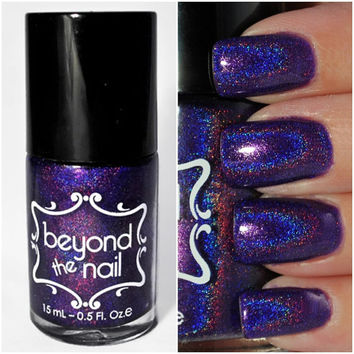 Space Cadet - Holographic Purple Jelly Nail Polish