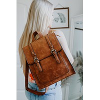 Patoka River Backpack - Cognac