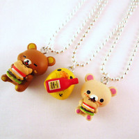 Best Friends Rilakkuma Korilakkuma Kiiroitori Kawaii by DoodieBear