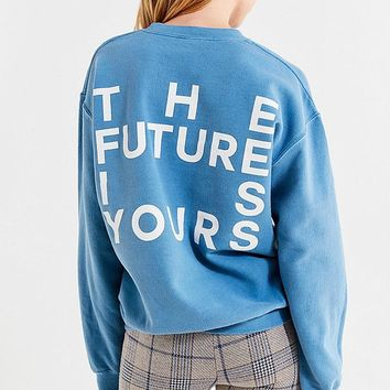 Future Is Yours Crew-Neck Sweatshirt | Urban Outfitters