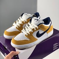 "Nike SB Dunk LoSp ""Ceramic"" Nike Dunk Series Retro Low Top Casual Sports Skateboard Shoes"