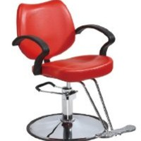 Red Classic Hydraulic Barber Chair Styling Salon Beauty