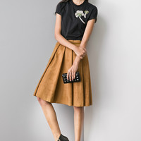 """""""The Last Song"""" Suede Skirt SK0059"""