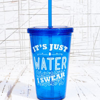 It's Water I Swear To Go Flask at Urban Outfitters
