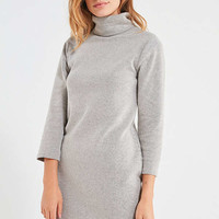 UO Tucker Ribbed Turtleneck Mini Dress | Urban Outfitters