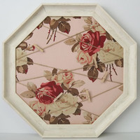 Petal Rose Shabby Memo Board - many colors