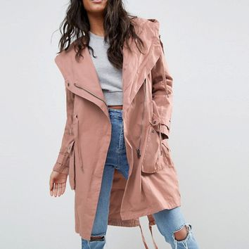 ASOS Waterfall Parka at asos.com
