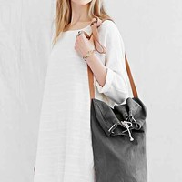 Carny Couture Canvas Carryall Bag- Cream One