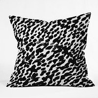 Rebecca Allen I Got it in Paris Darling Outdoor Throw Pillow