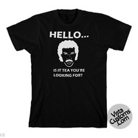 Lionel Richie Hello is it keys you're looking for Black New Hot T-Shirt