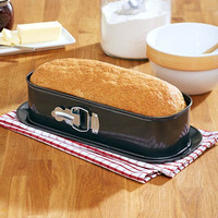 Springform Bread Loaf Pan Zinc Nonstick Even Heat Distribution Baking Bake