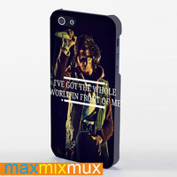 Sleeping With Sirens Quote iPhone 4/4S, 5/5S, 5C Series Full Wrap Case